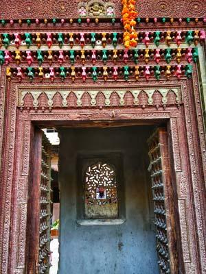 entry door of haveli